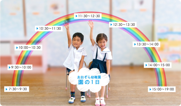 おおぞら幼稚園の一日