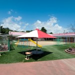 保育園園庭