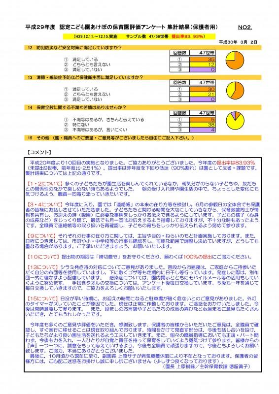 29 保護者アンケート(保育園保護者用)集計結果A4akebono_02